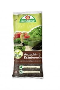 ASB Greenworld Bio Anzucht- u. Kräutererde ,  16 l