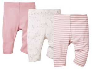 LUPILU® 3 Baby Mädchen Leggings