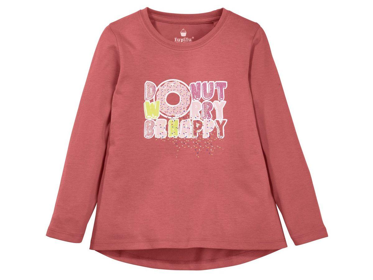 Bild 1 von LUPILU® Kleinkinder Mädchen Langarmshirt