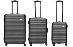 Packenger 3er Koffer-Set ´´Timber´´ Trolley-Set Hartschale (M, L & XL) /