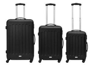Packenger 3er Koffer-Set ´´Travelstar´´ Trolley-Set Hartschale (M, L & XL) / 4