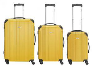 Packenger 3er Koffer-Set ´´Goliath´´ Trolley-Set Hartschale (M, L & XL) / Koffer