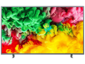 PHILIPS 43PUS6703, 108 cm (43 Zoll), UHD 4K, SMART TV, LED TV, 1100 PPI, Ambilight 3-seitig, DVB-T2 HD, DVB-C, DVB-S, DVB-S2