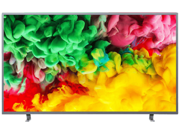 PHILIPS 43PUS6703, 108 cm (43 Zoll), UHD 4K, SMART TV, LED TV, 1100 PPI, Ambilight 3-seitig, DVB-T2 HD, DVB-C, DVB-S, DVB-S2
