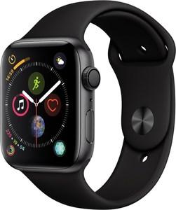 Apple Watch Series 4 (44mm) GPS mit Sportarmband spacegrau/schwarz