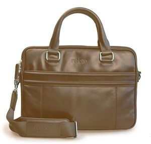 reboon bag 17´´ Leder Laptoptasche braun