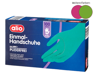 alio 100 Einmal-Handschuhe