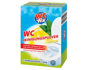 WC fix WC-Reinigungspulver