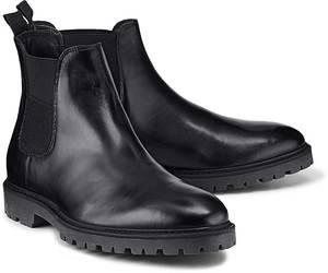 Chelsea-Boots von Belmondo in schwarz für Herren. Gr. 43,44,45