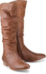 Fashion-Stiefel von Cox in braun für Damen. Gr. 36,37,38,39