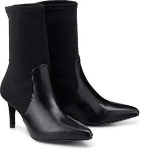 Stretch-Stiefelette von Belmondo in schwarz für Damen. Gr. 36,38,39,41