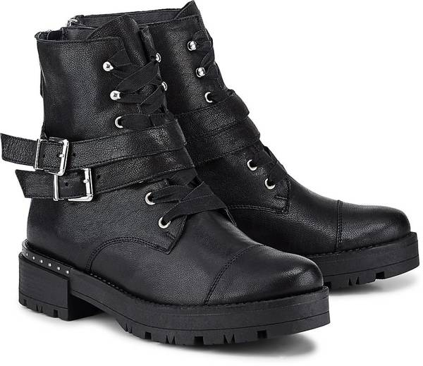Trend-Stiefelette von Cox in schwarz für Damen. Gr. 36,39,41