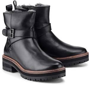 Winter-Boots von Cox in schwarz für Damen. Gr. 36,37,38,39,41