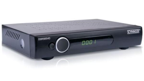 Schwaiger HDTV Satellitenreceiver ,  DSR585RHD