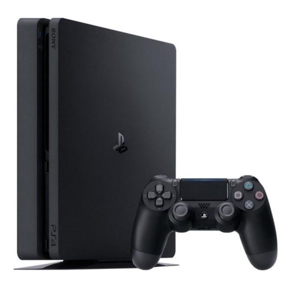 PS4 Konsole 1 TB Slim ,  schwarz