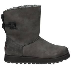 Damen Winter Boot, hellgrau