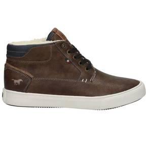 Herren High Top Sneaker, dunkelbraun