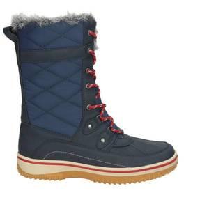 Damen Snow Boot, dunkelblau