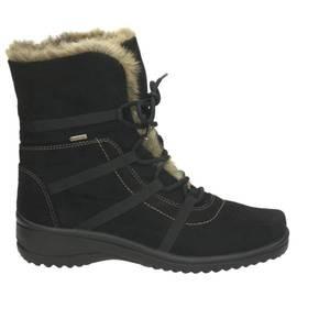 Damen Snow Boot, schwarz - kombiniert
