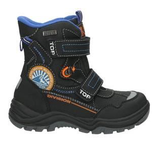Kinder Snow Boot, schwarz - kombiniert