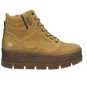 Damen Plateau-Boot, camel