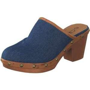 Claudia Ghizzani Clog Damen jeansblau