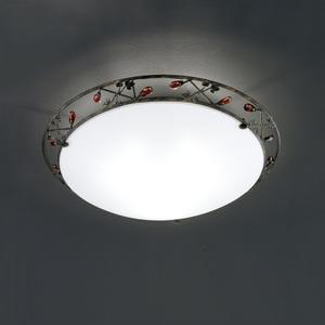 FISCHER & HONSEL Retrofit Deckenlampe 3 flg CONO 45 Rost