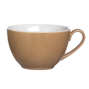 Flirt by R & B Tasse für Kaffee oder Tee DOPPIO Nougatbraun
