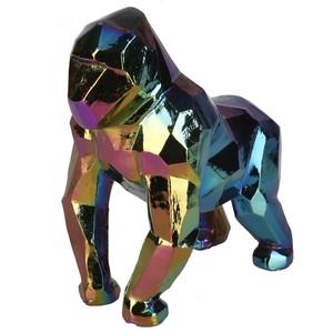 Deko Skulptur, Gorilla, 20cm