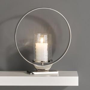 Design-Kerzenhalter rund