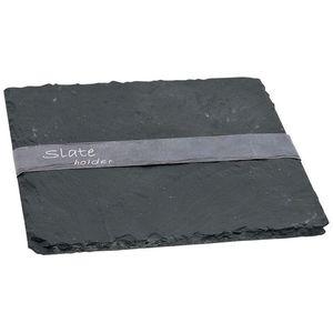 Schieferplatte, B:20cm x L:20cm