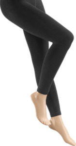 FASCÍNO Thermo-Leggings aus Modal, anthrazit Gr. 46/48