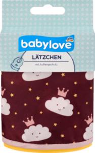 babylove Lätzchen aus Polyester, Wolken / Krönchen