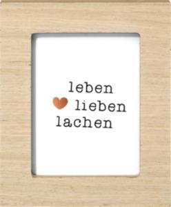 Paradies Bilderrahmen Mini 7,5x10cm Holz
