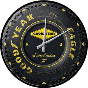 Goodyear Wheel Wanduhr        Durchmesser: 31cm