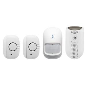 G-Homa WiFi Mini-Alarm Kit (Zentraleinheit, Bewegungsmelder, 2x Fenster- & Türkontakt)