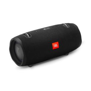 JBL Xtreme 2 (schwarz) - Bluetooth-Lautsprecher Bluetooth 4.2, spritzwasserfest, 15 Std. Akku, JBL Connect+