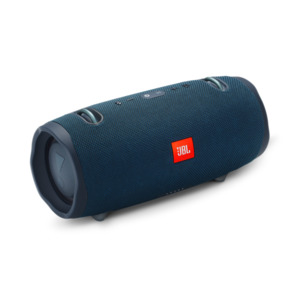 JBL Xtreme 2 (blau) - Bluetooth-Lautsprecher Bluetooth 4.2, spritzwasserfest, 15 Std. Akku, JBL Connect
