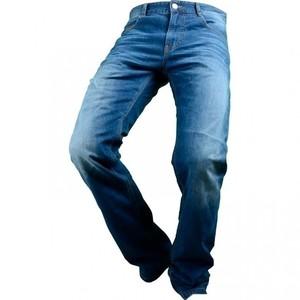 Overlap            Street Smalt Jeans blau