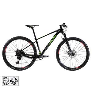 Mountainbike XC 100 29 12 Gänge schwarz/neon