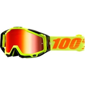100%            Racecraft Crossbrille gelb/schwarz