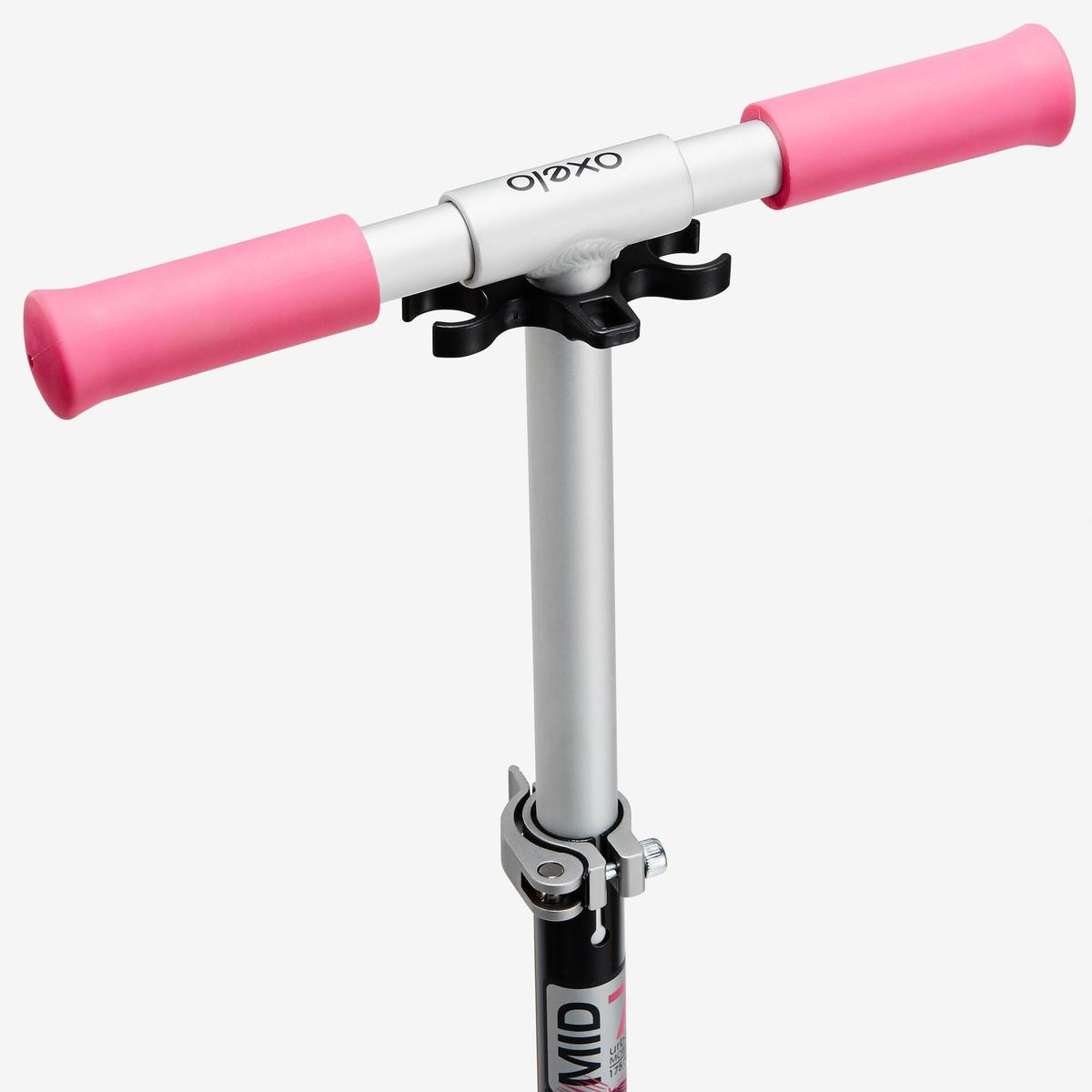 Bild 4 von City-Roller Scooter Mid 7 mit Ständer schwarz/rosa