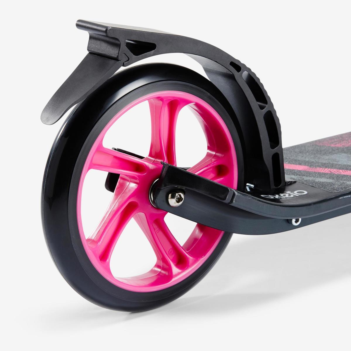 Bild 5 von City-Roller Scooter Mid 7 mit Ständer schwarz/rosa
