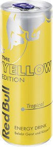 Red Bull The Yellow Edition Tropical 0,25 ltr