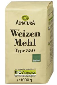 Alnatura Bio Weizenmehl Typ 550 1 kg