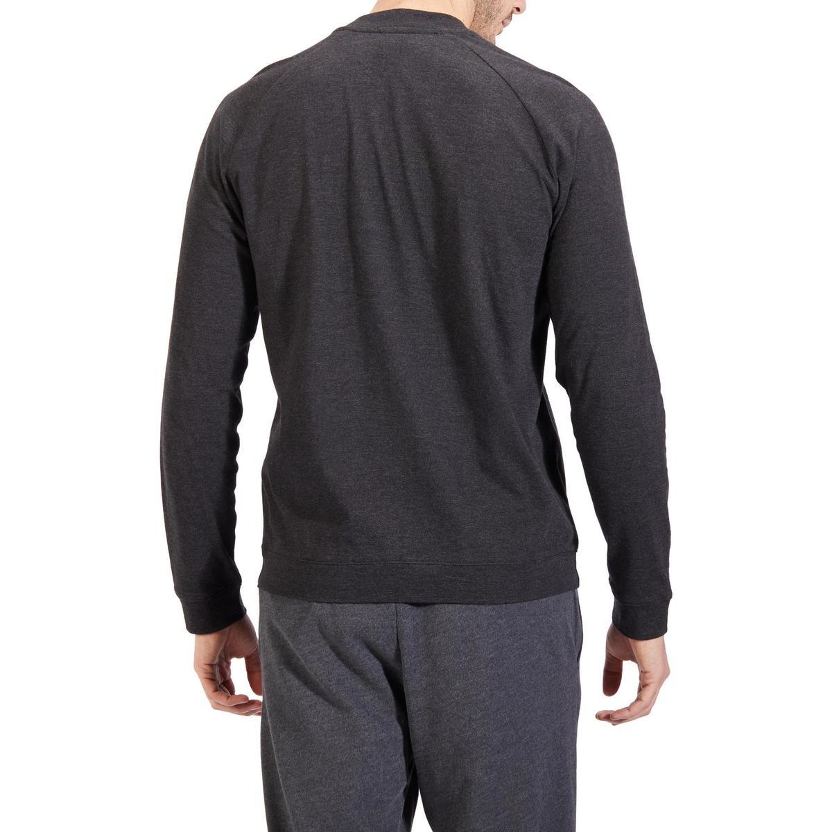 Bild 5 von Trainingsjacke Gym 100 Stretching Herren grau