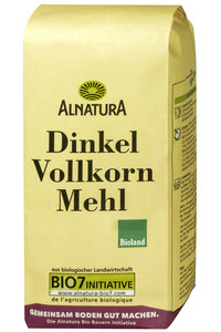 Alnatura Bio Dinkelvollkornmehl 1 kg