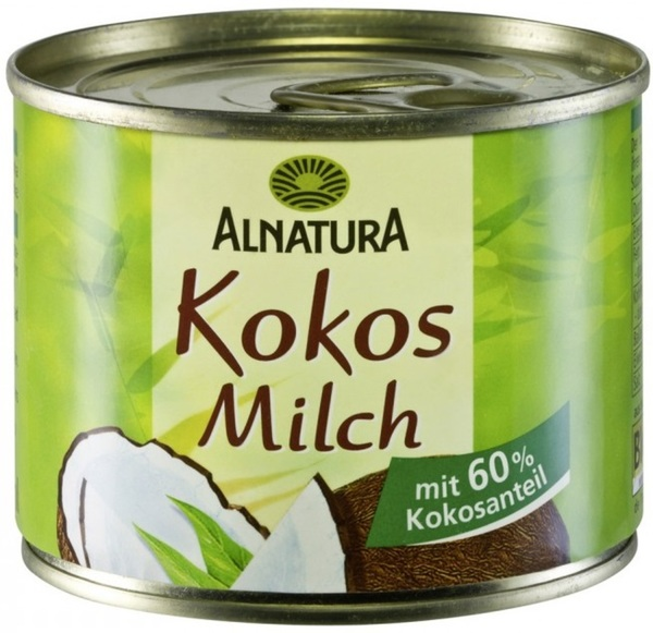 Alnatura Bio Kokos Millch 200 ml