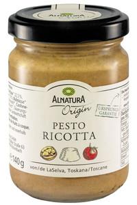 Alnatura Origin Bio Pesto Ricotta 140 g