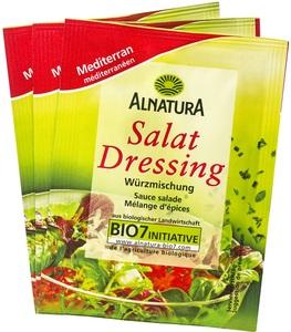 Alnatura Bio Salatdressing Mediterran 3x 8 g